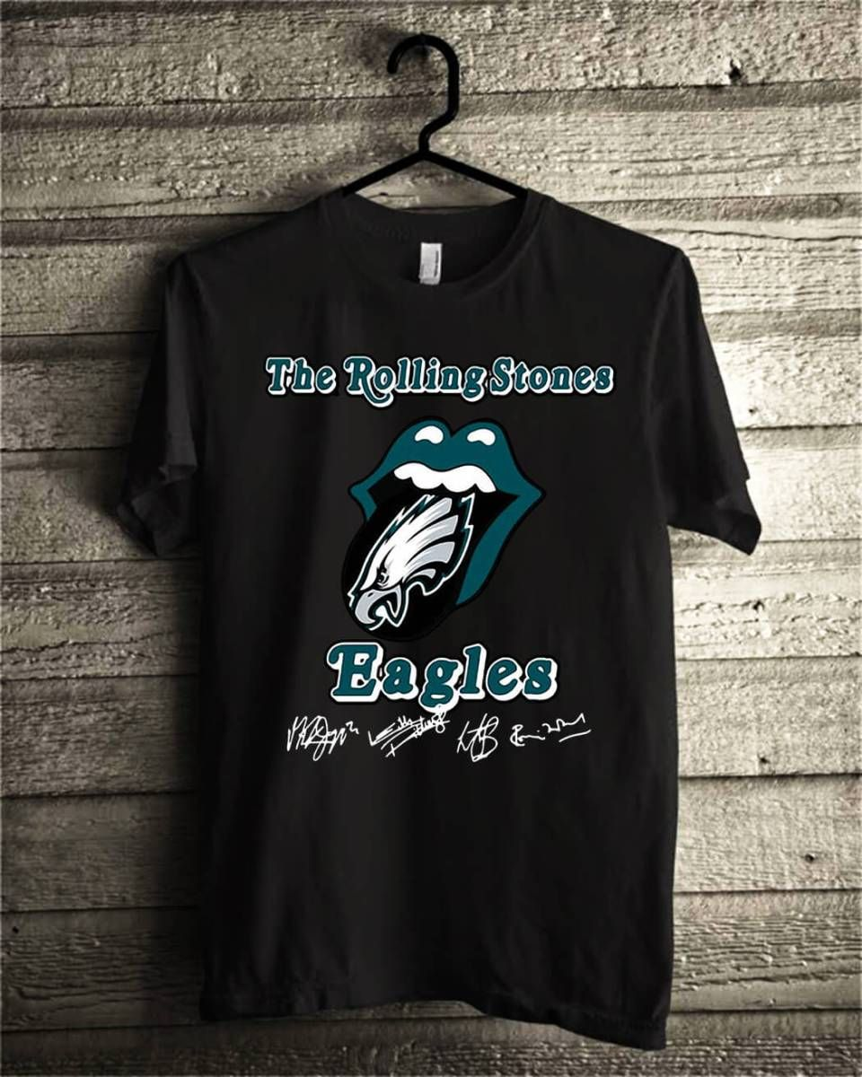 cheaper 9a24f ce735 The rolling stones philadelphia eagles shirt, hoodie ...