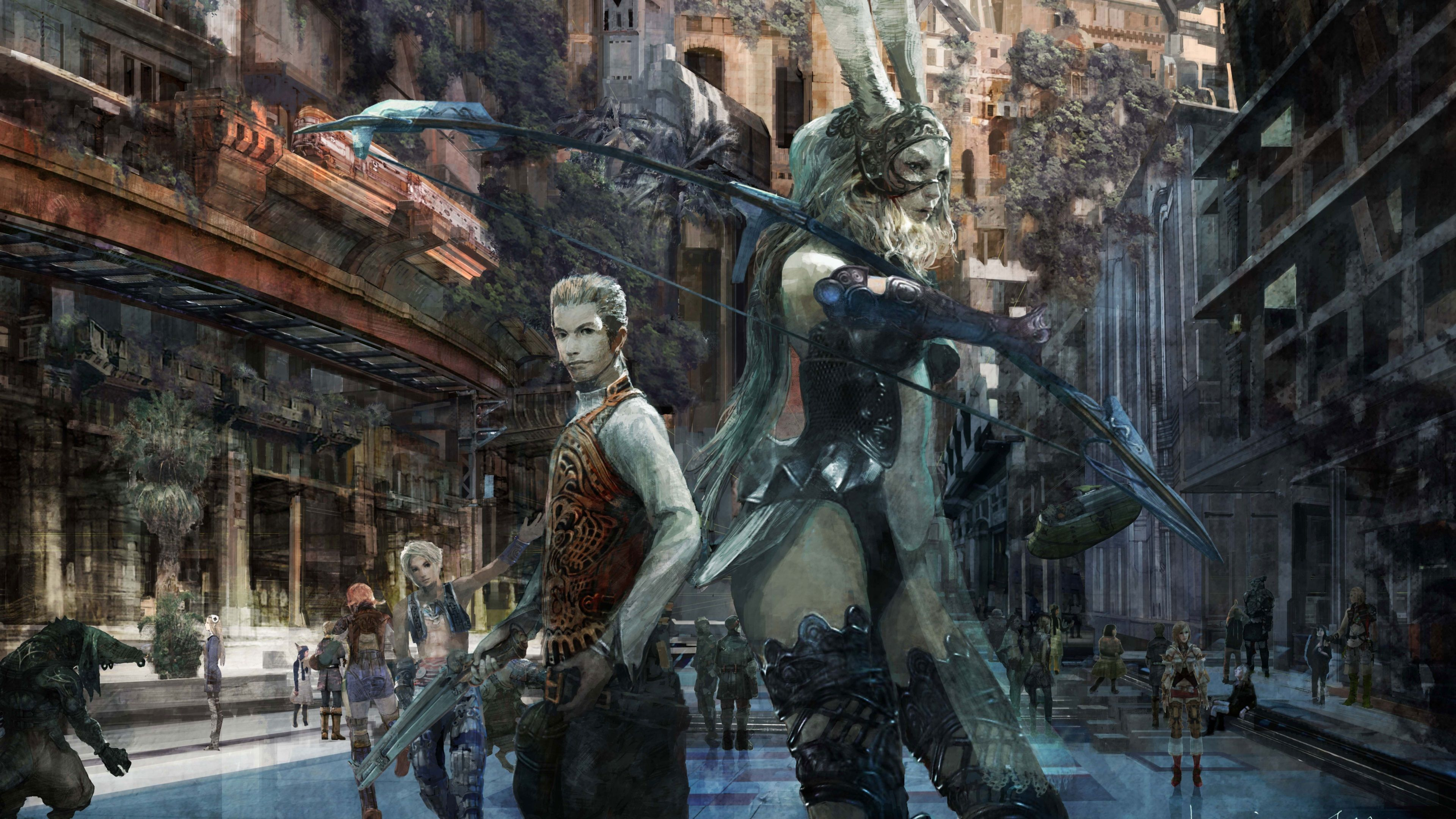 3840x2160 Final Fantasy Xii The Zodiac Age 4k Download Free Pc