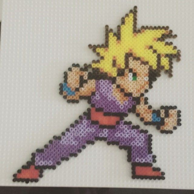 Gohan Dragon Ball Hama Beads By Nodokka Crafts I Love