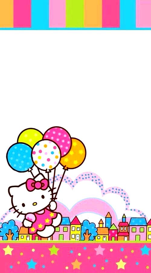 Pin By Loeci Schmitz On Education Wallpaper Hello Kitty Printables Hello Kitty Birthday Hello Kitty Invitations