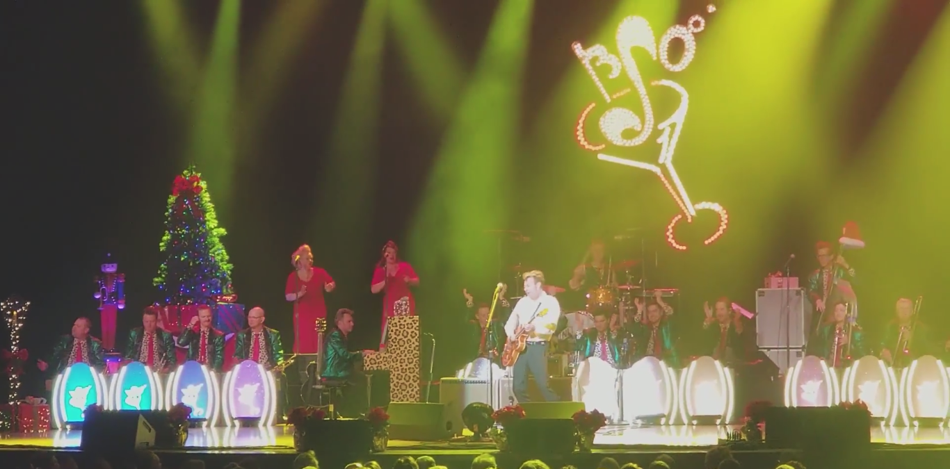 This year, the Brian Setzer Orchestra\'s 14th Annual Christmas Rocks ...
