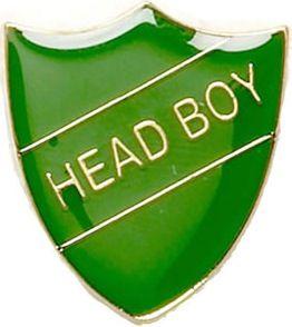 Superb Slytherin Head Boy Shield Lapel Badge