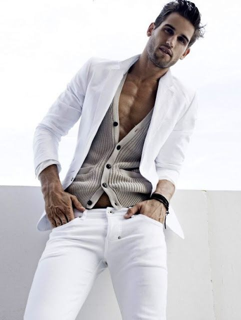 4b433b5c4 Bryce Thompson. Tight white jeans on that body! | All About Men's ...