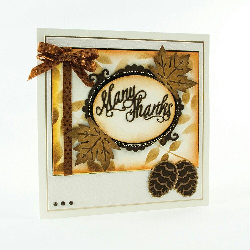 My Tonic Studios - Autumn Die Collection