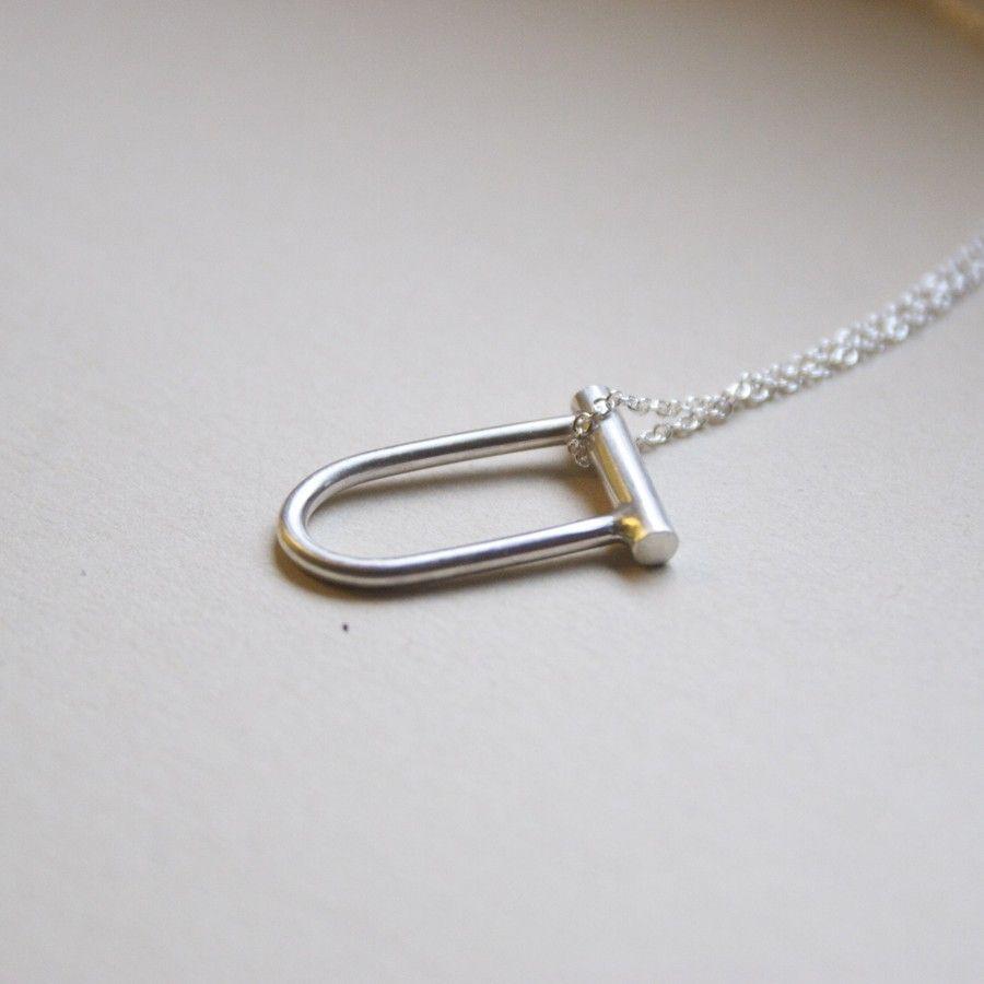 Bike Lock Necklace 36 00 Via Etsy Key Jewelry Jewelry Jewels
