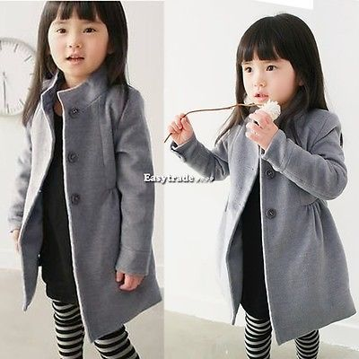 Children's Clothing Winter Coat Fleece Girl collar Jacket Thick Warm Trench Kid is part of Clothes Winter Children -