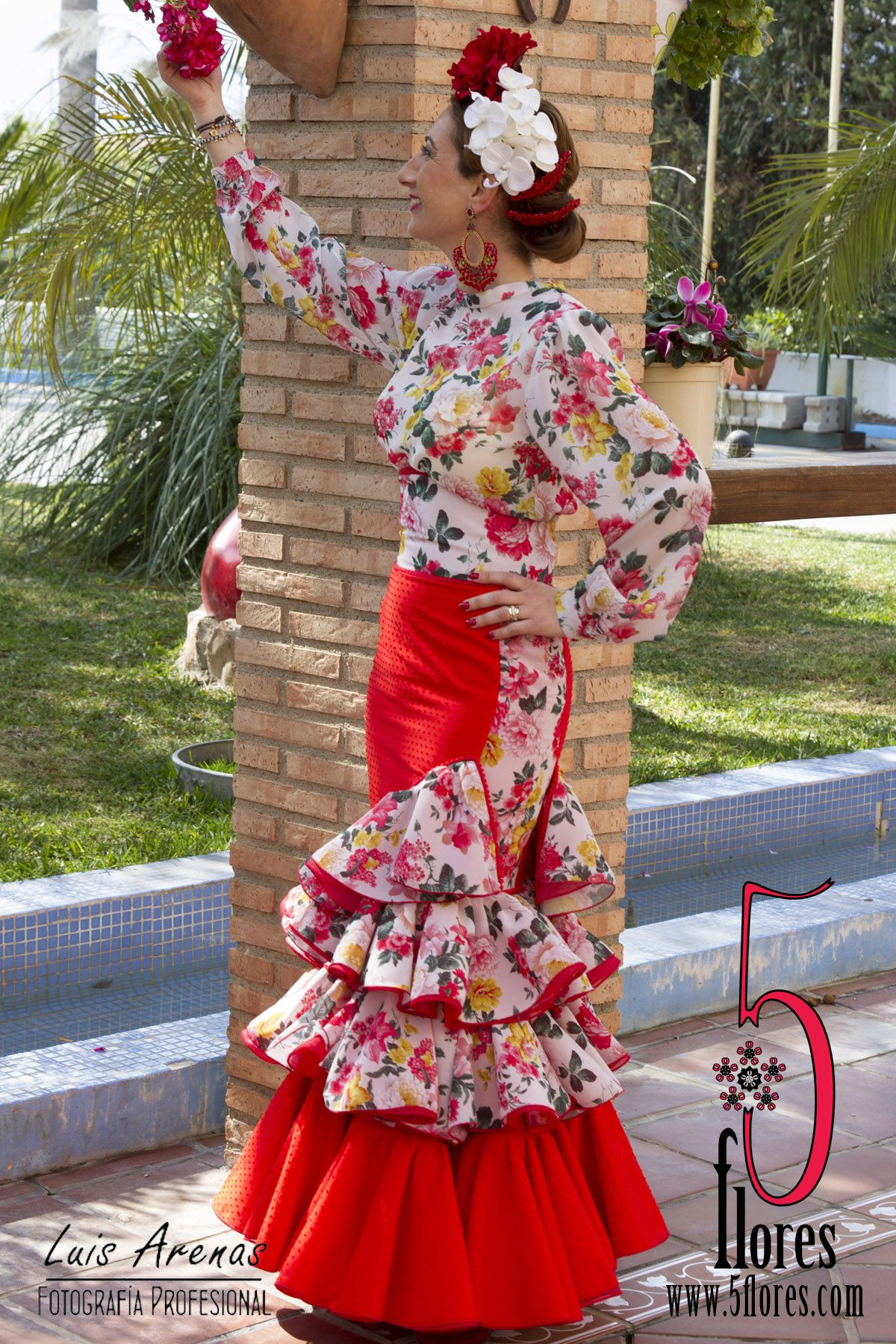 traje de flamenca candil