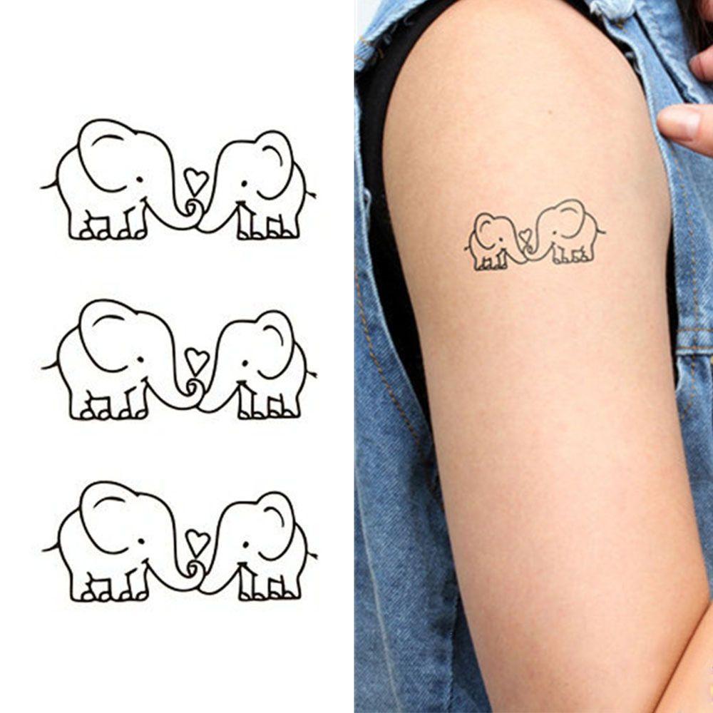 1pc new waterproof tattoo sticker animal temporary tattoo