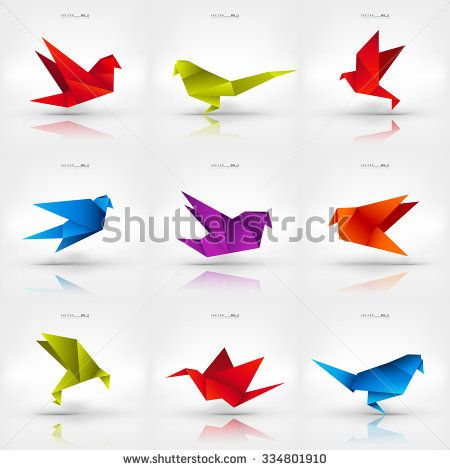 Step By Step Instructions How To Make Origami A Flapping Bird ... | 470x450