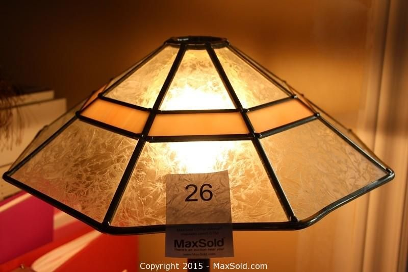 Maxsold auction ottawa downsizing online auction ram signed maxsold auction ottawa downsizing online auction ram signed numbered glass and brass lamp shade stained glass lamps pinterest glass and stained mozeypictures Images