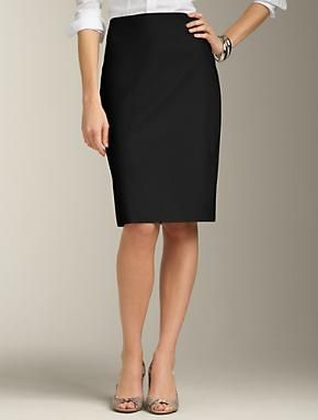 f04f8418c3a3bf Talbots - Uptown Twill Pencil Skirt | Suits | Apparel | temporary ...