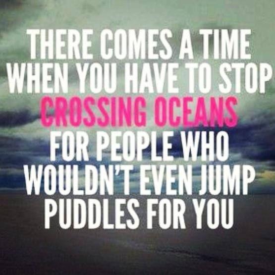 Crossing Oceans.