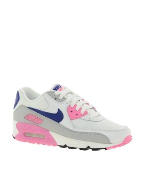 sports shoes ccecb b85d3 133,44€ Bild 1 von Nike – Air Max 90 Essential – Turnschuhe in Grau Rosa