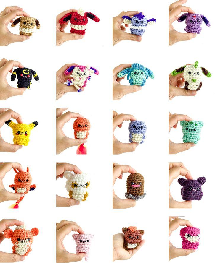 Chibi Chubby Pokemon by mengymenagerie | Pokemon Crochet patterns ...