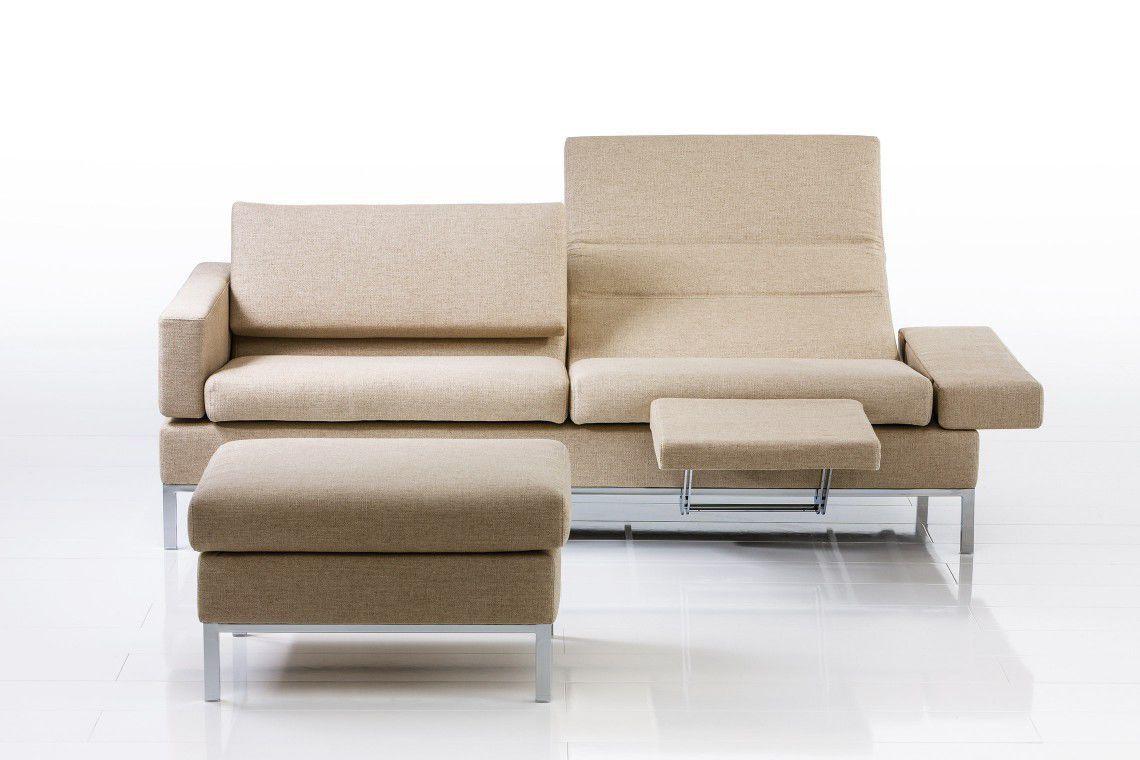 Modular sofa / bed / contemporary / fabric - TOMO by ...