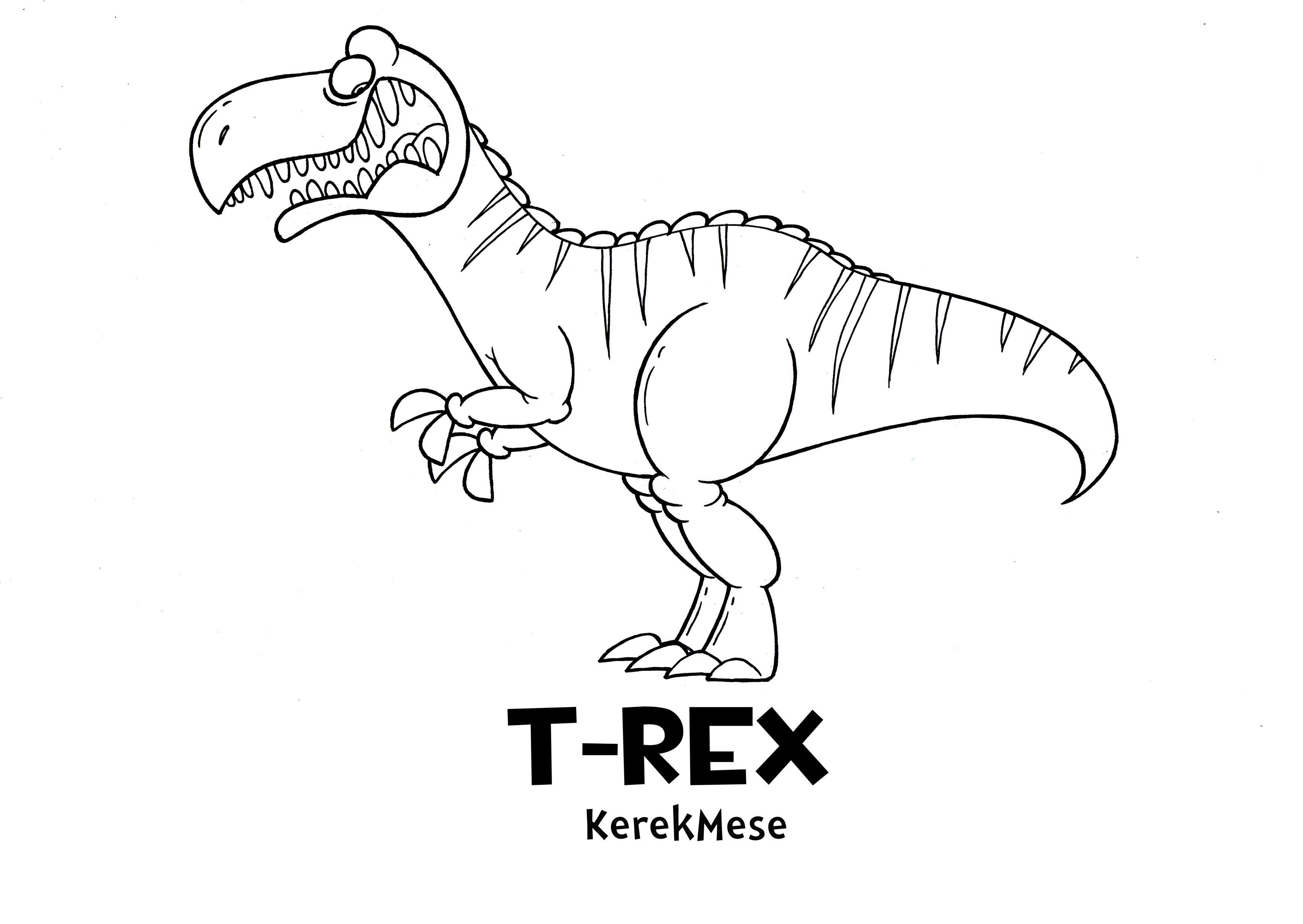 Ausmalbilder Dinosaurier T-rex : Ungew Hnlich Ausmalbilder Dinosaurier T Rex Ideen Framing