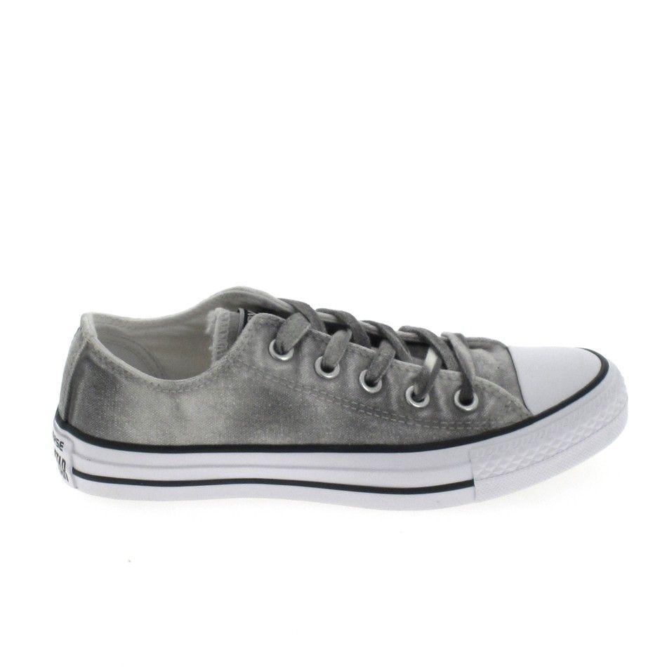 converse grise basse