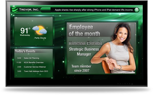 digital signage software | learning center ideas | pinterest, Modern powerpoint