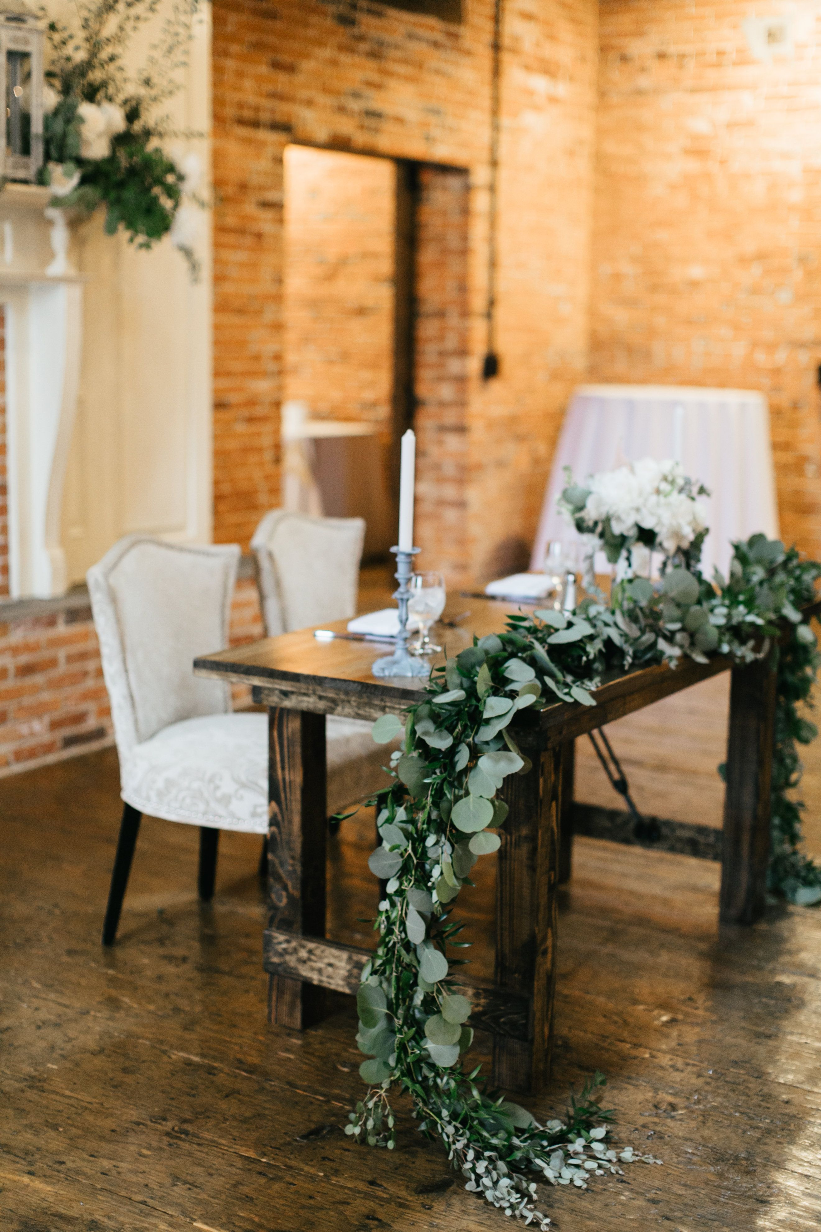 The Booking House Wedding Reception Ceremony Brick Warehouse