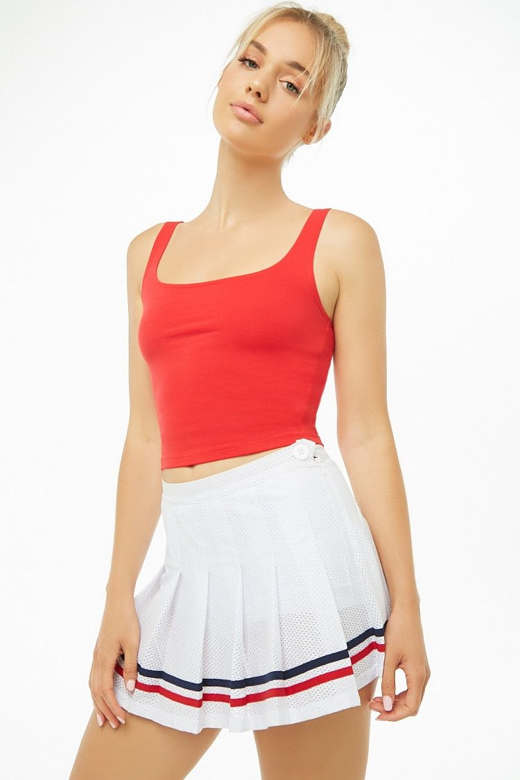9c9def020 Active Striped-Trim Pleated Tennis Skirt $19.90 from Forever 21 makes me  wanna play tennis haha