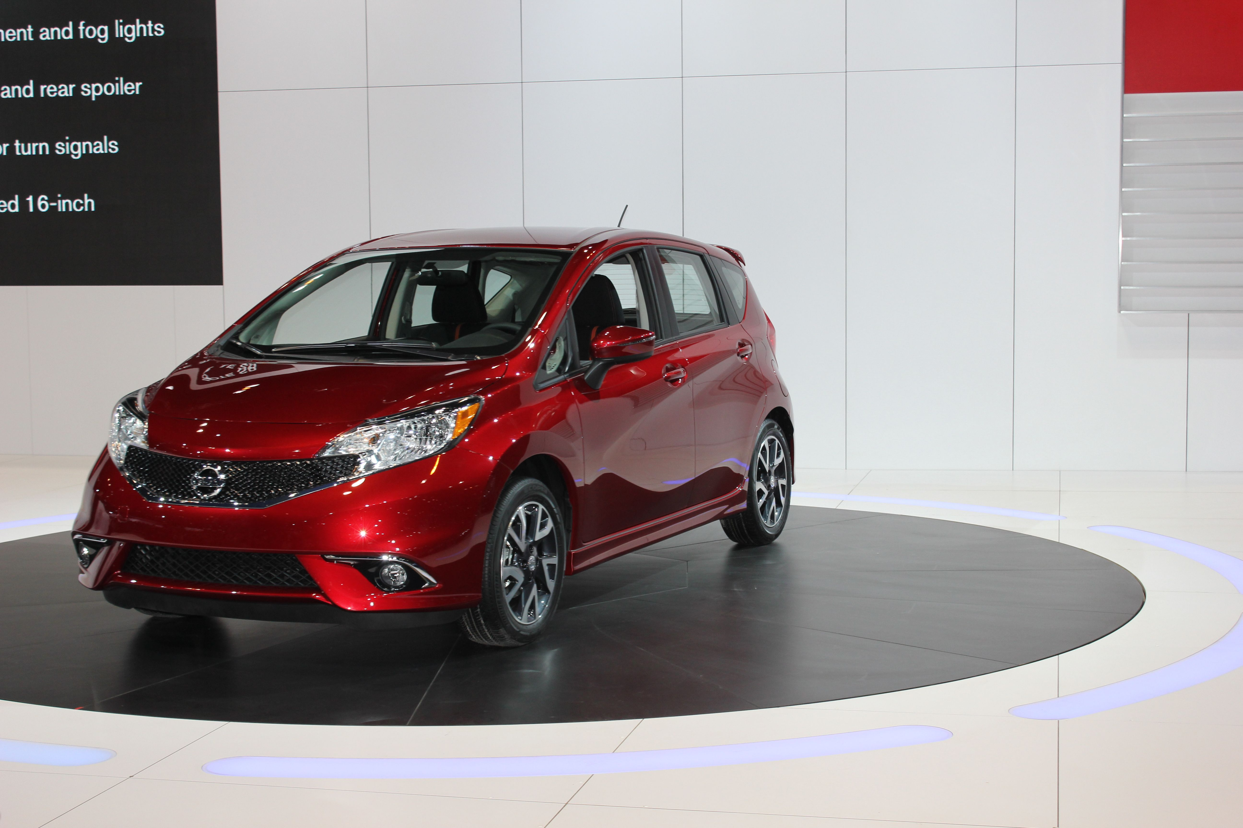Now Sportier Than Ever The 2015 Versa Note Sr Made Its Debut At The 2014 Chicago Auto Show
