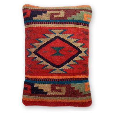 World Menagerie Parkington Monte Alban Wool Lumbar Pillow Cover Wayfair