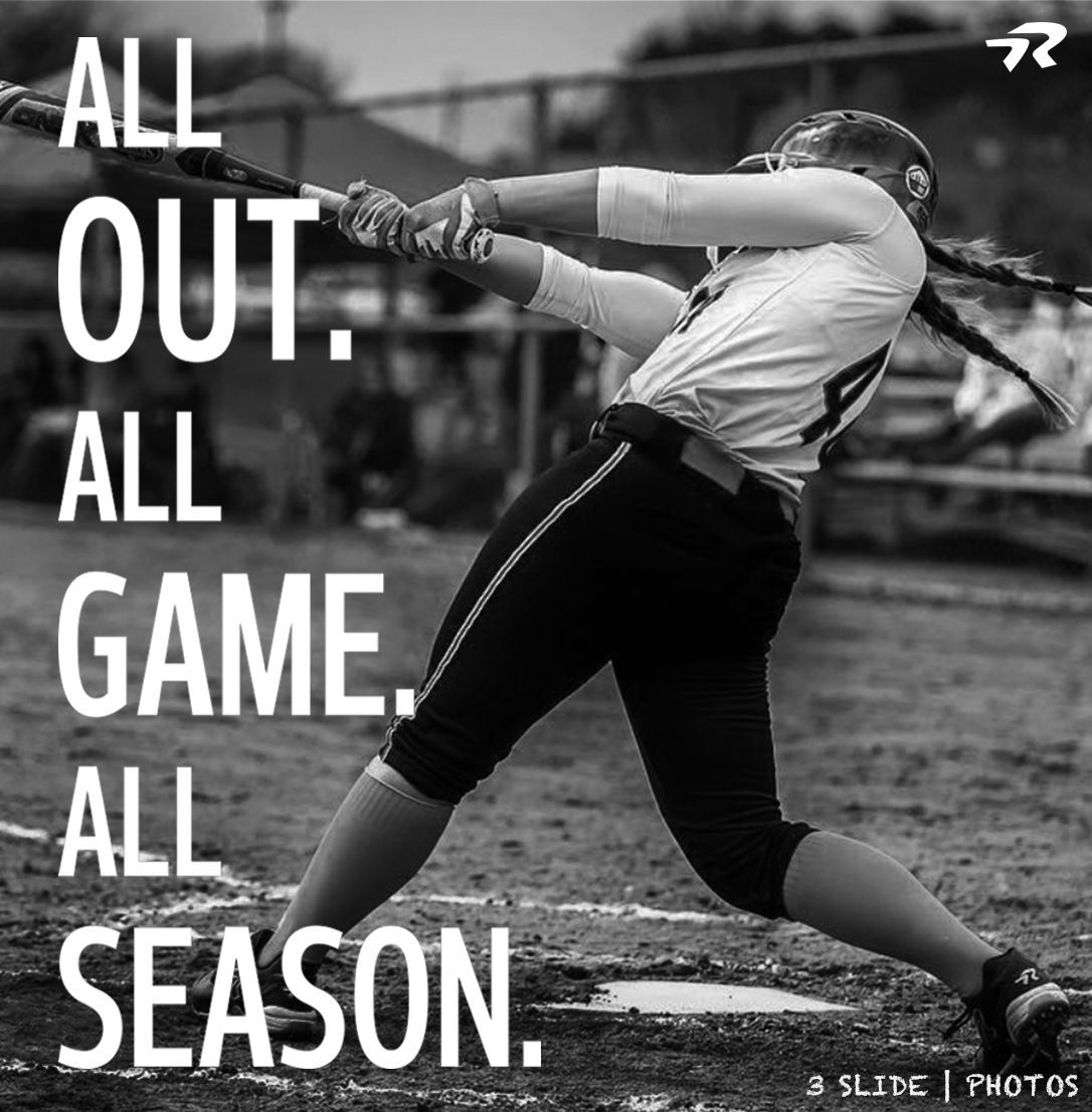 All Out Softballstrong Ringor Ringorsb Softball Fastpitch Softball Quotes Softball Life