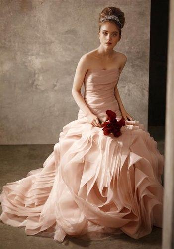 White b Vera Wang--like the blush color