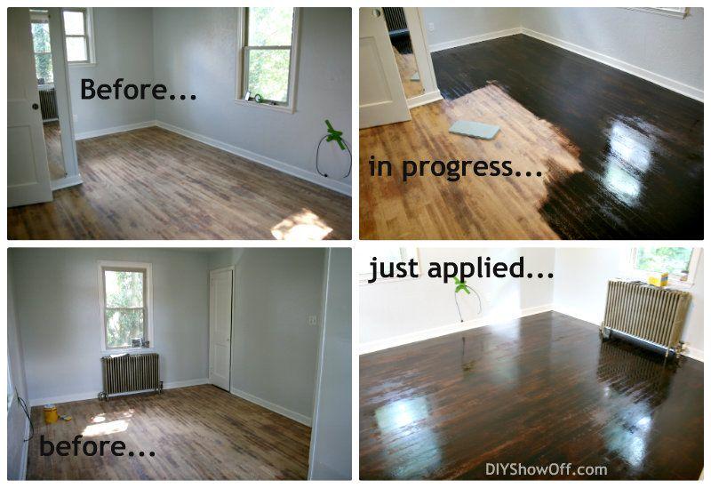 How to refinish hardwood floors refinish hardwood floors diy showoff shares some valuable tips on how to refinish hardwood floors solutioingenieria Gallery