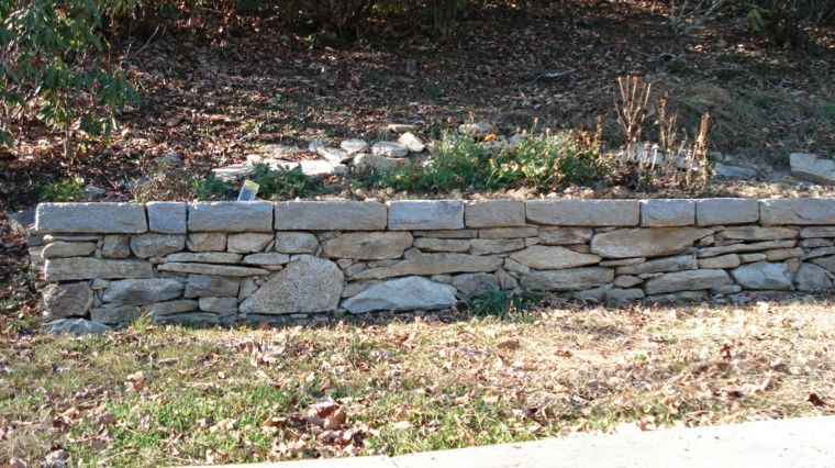 Diseno Muro De Piedras Planas Muros De Piedra Muros Muros De Contencion De Concreto