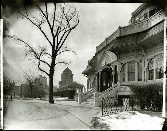 1930 picture of the Claremont house - 1804-1951. UWS spanned B'way between 121-127th street.