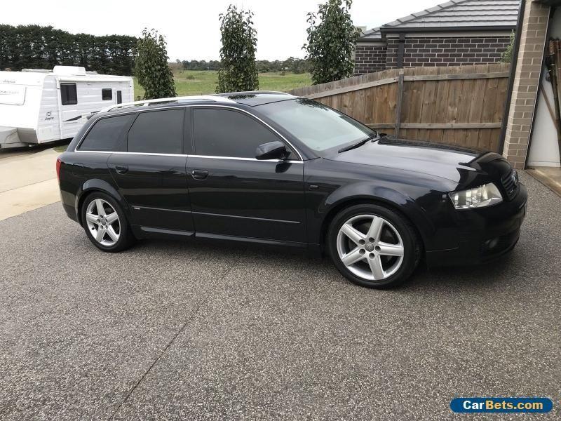 Audi A4 B6 Avant 1 8 Turbo 6 Speed All Wheel Drive Audi A4 Forsale Australia Audi A4 Audi Turbo
