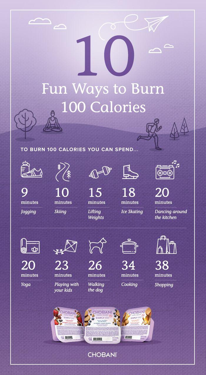 How Would You Burn 100 Calories? + Chobani Simply 100 ...