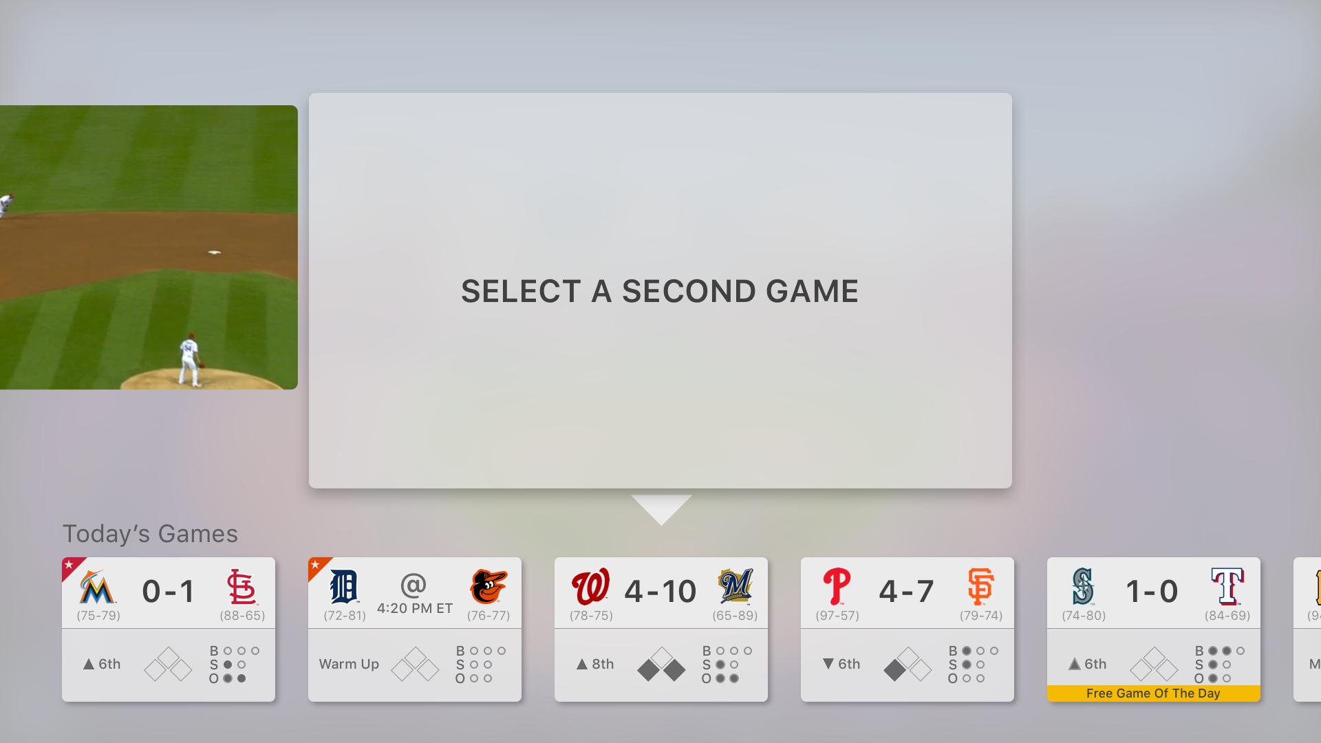 Mlb Tv Games Today Major League Baseball Major League