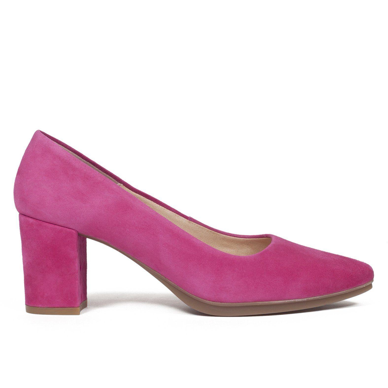 Venta de liquidación tienda del reino unido diseño exquisito Zapato de tacón cómodo FUCSIA – Zapatos miMaO Online Hecho ...