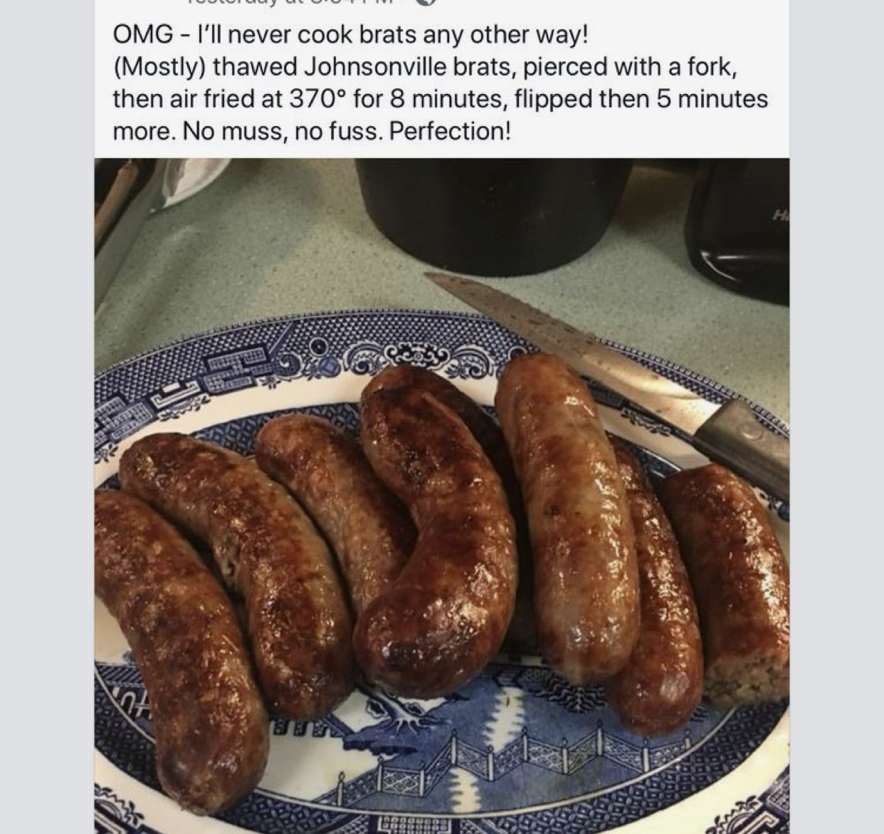 Pin by Jill McGrath on Air Fryer Johnsonville, Food, Cooking