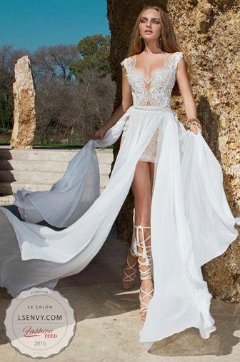 Dakota Godess Gown Julie Vinos Spring 2015 Quartet Collection By