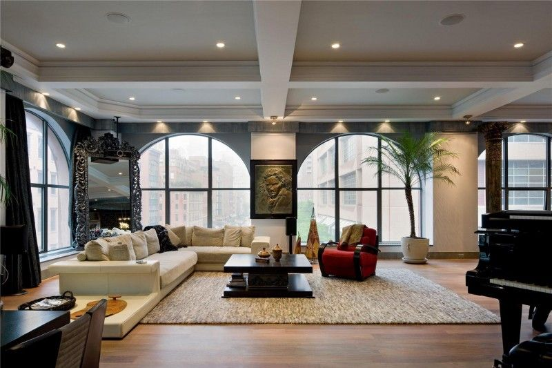 two spectacular lofts in tribeca | lofts, luxury loft and wooden, Innenarchitektur ideen