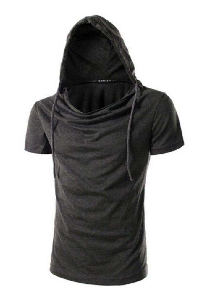 3b6f1c406281cf Casual Men s Solid Hoodie T Shirt In Dark Gray  10-30   meta-filter-color-gray  meta-filter-size-2xl  meta-filter-size-l   meta-filter-size-m ...