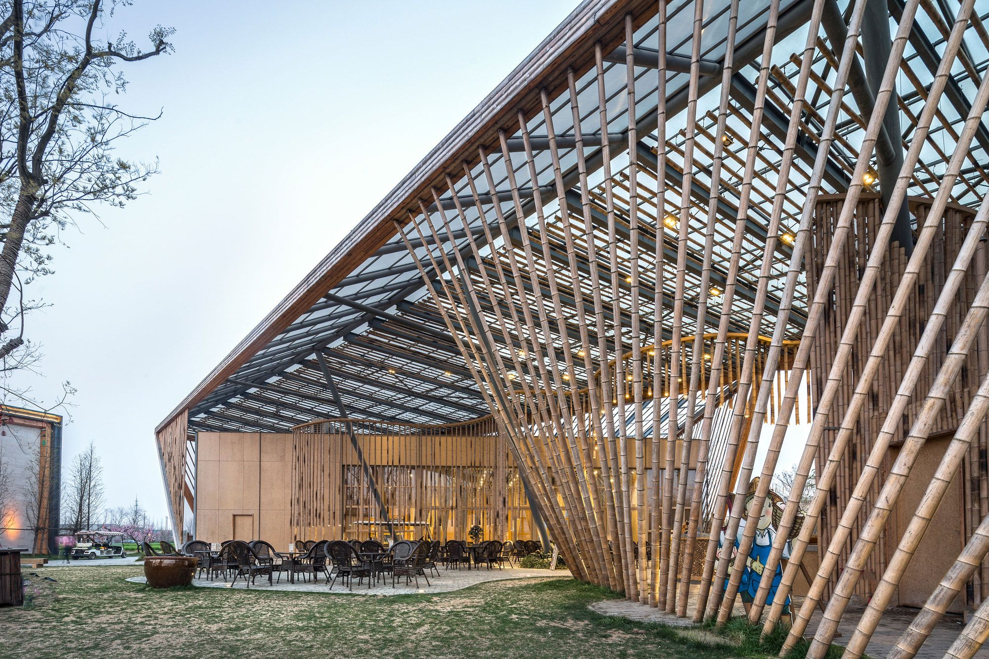 New Pastoralism Lecture Hall Syn Architects Arch
