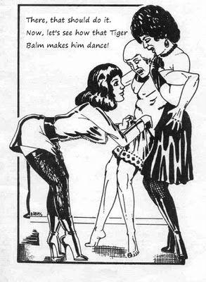 Classic fetish cartoon.