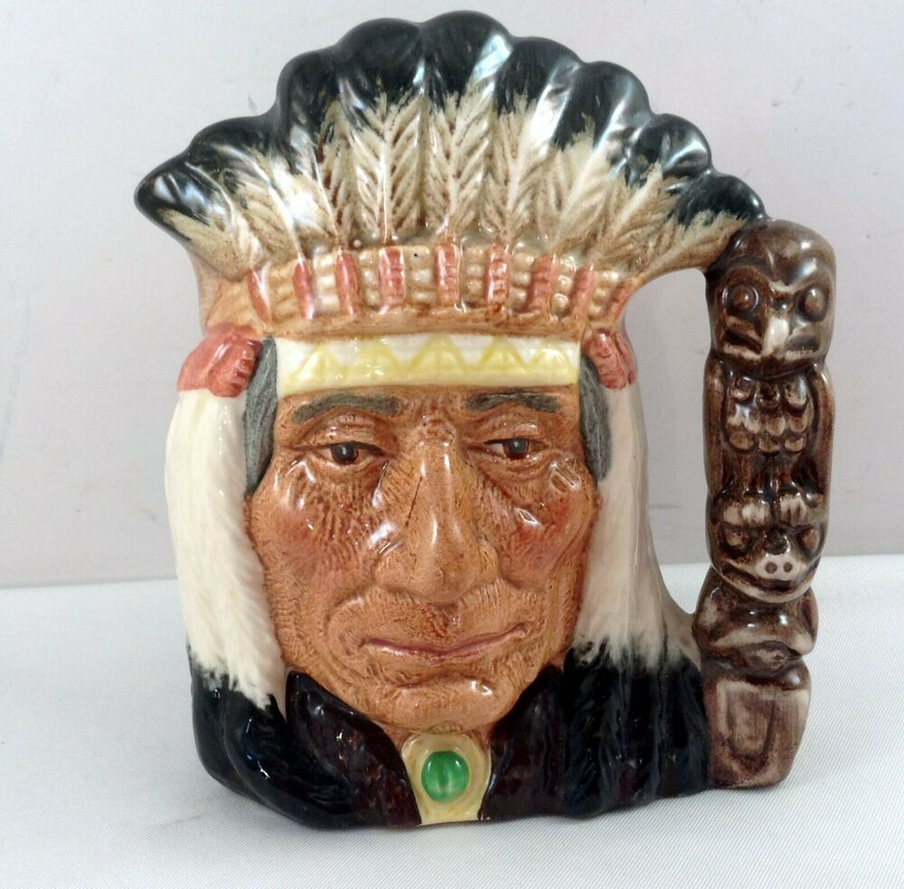 Details about Royal Doulton North American Indian Cup Mug