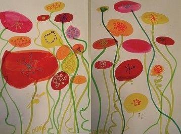 D cor de printemps arts visuels pinterest printemps - Le printemps gs ...