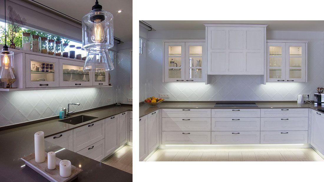Diseño e instalación. Iluminacion | cocinas | Cocinas, Muebles de ...