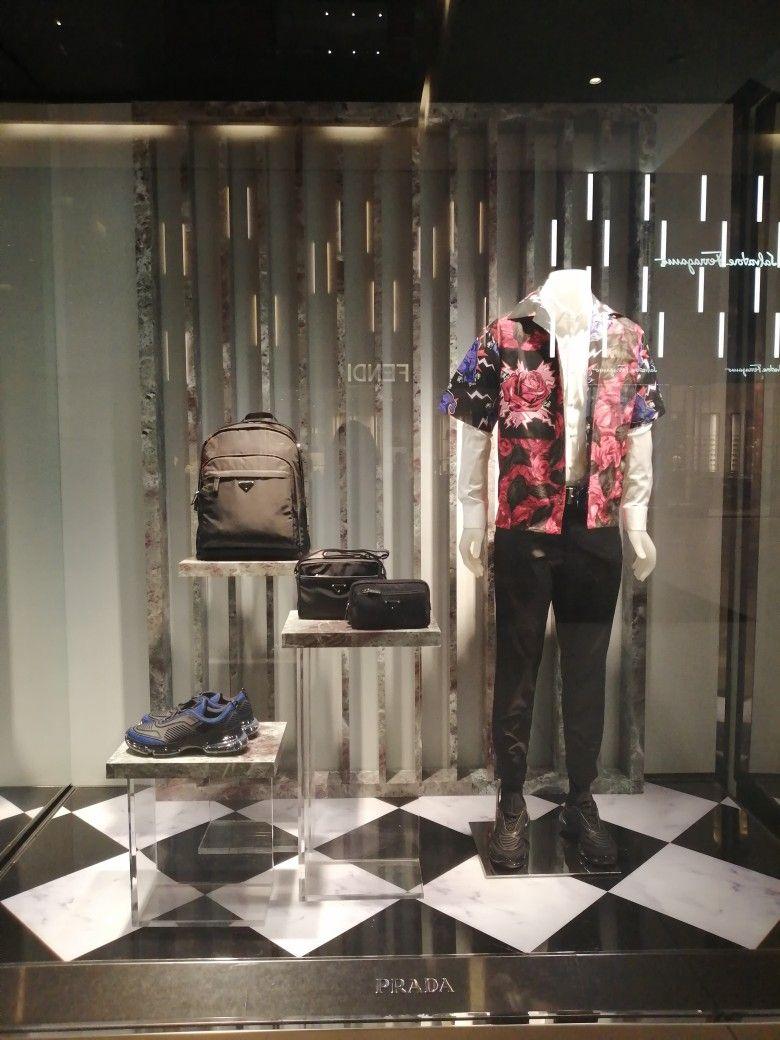 Prada, Soho Panama | Window decor, Window display, Display