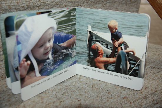 share memories of together times with your grandkids with board