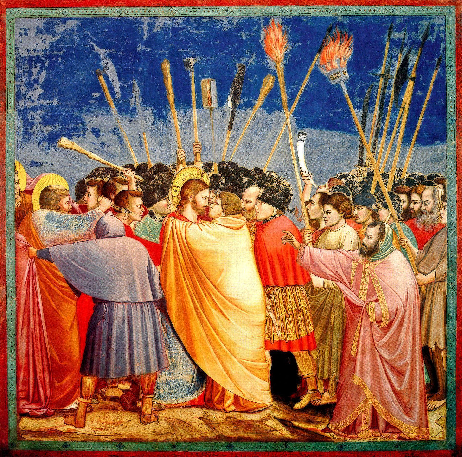 The Kiss of Judas El beso de judas, Pinturas
