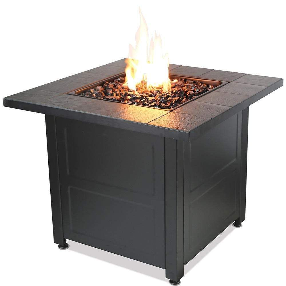 Photo of LP Gas Outdoor Fire Pit with Stamped