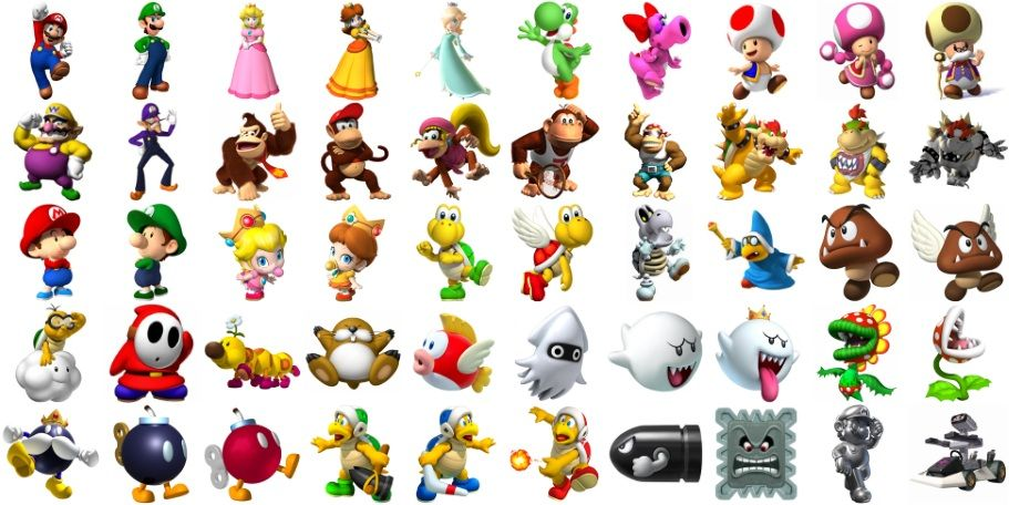 Can You Name The Super Mario Characters By Wiijay87 Online
