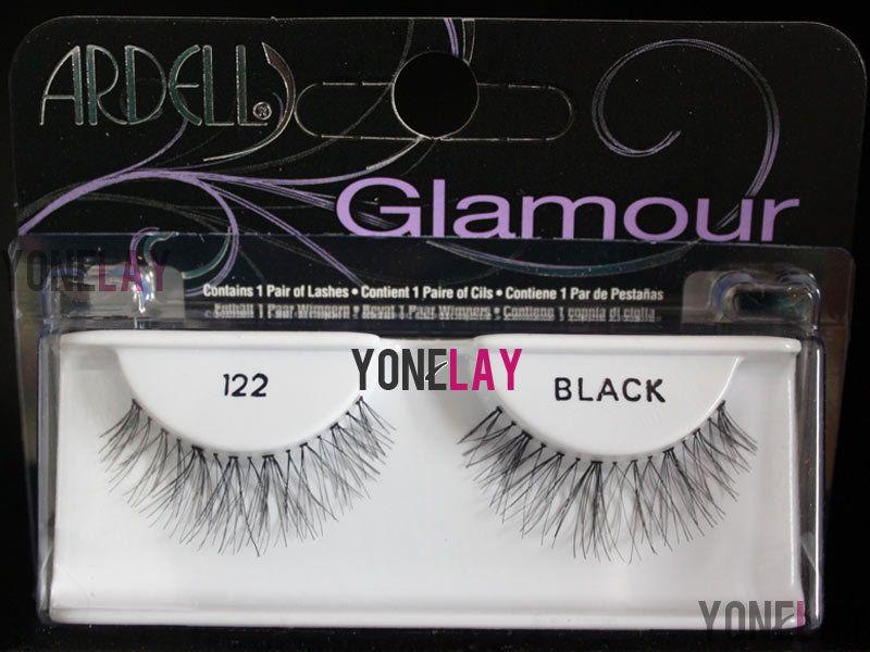 f48fc108ffa 1 Pair ARDELL 122 Glamour False Eyelashes Fake Eye Lashes Invisibands Wispy  #Ardell